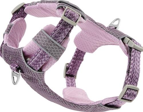 light purple dog harness