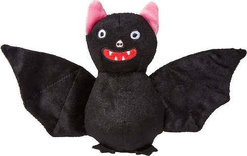 Plush bat toy for cats