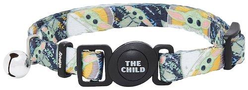 Mandalorian cat collar featuring the Child