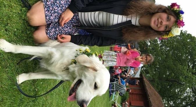 Ansvarsfull, hundälskande veterinärstudent, hundvakt nära Uppsala, Sweden
