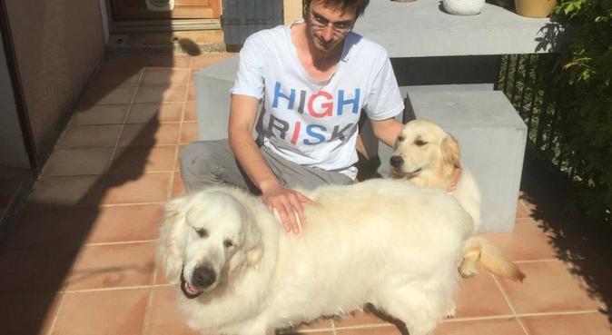 l'ami des chiens, pro des câlins, dog sitter à Lyon