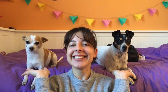 La priorité:les câlins !, dog sitter à Montpellier, France