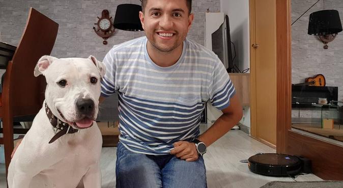 Cuidador de Perros y Hospedaje canino de confianza, canguro en Madrid