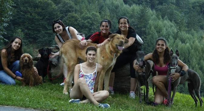 Bienvenidos amigos de cuatro patas, canguro en Villabona