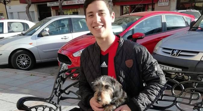 El Mejor amigo de los perros, canguro en Mijas