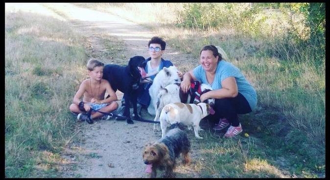Garderie canine avec dog sitter titulaire CCAD, dog sitter à Rezé, France