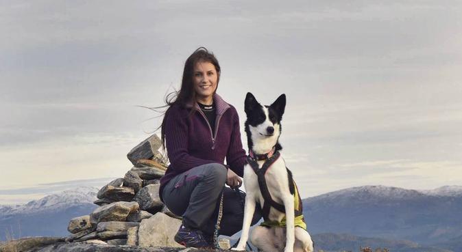 Hundelufting i Freimarka., hundepassere i Frei