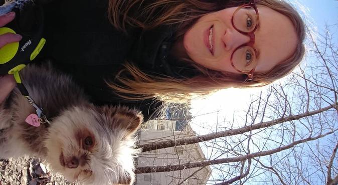 Friluftsmänniska som älskar hundar, hundvakt nära Linköping