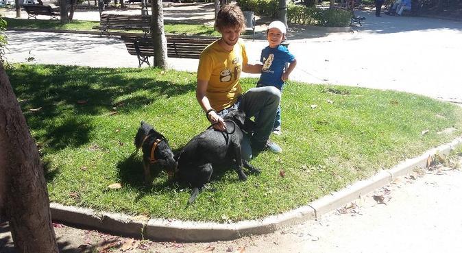 Aquí estamos para pasear a tus perretes :D, canguro en Móstoles