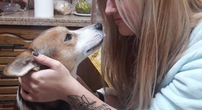 Amor por los animales felices, canguro en Barrio de la Vega