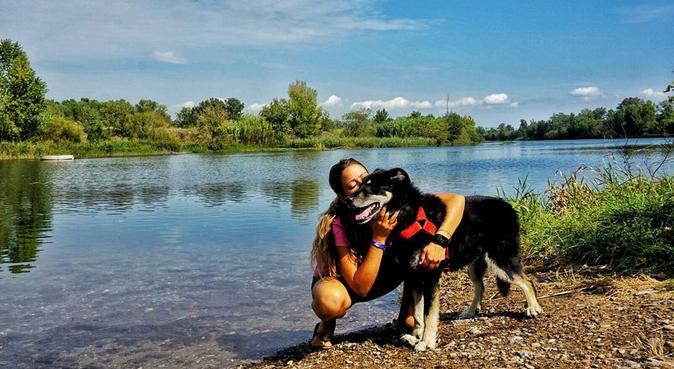 Largos paseos y muuuucho cariño para tu perro, canguro en Barcelona