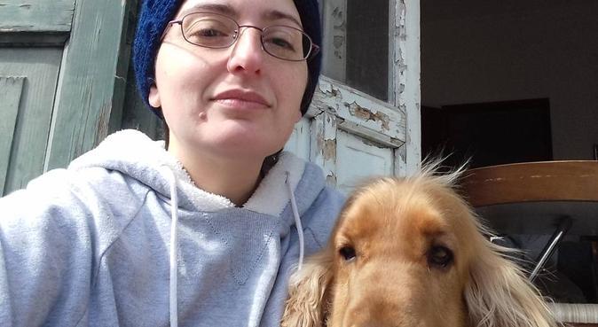 tenerezza e serenita'  a casa di cla cla, dog sitter a Palermo