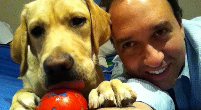 Amamos los perros, canguro en Villalba de Duero