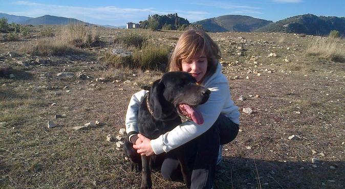 Ballades à volonté et jeux en plein air garanti, dog sitter à Cagnes sur mer