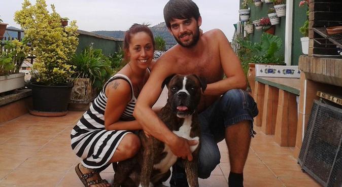 Amigo de los perros, canguro en Barcelona