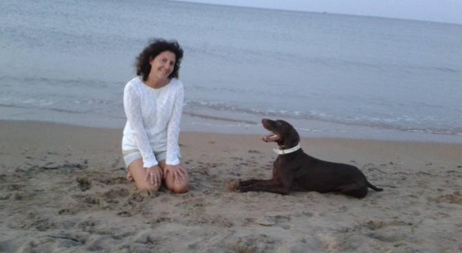 Cuidadora de perros como en familia, canguro en Madrid