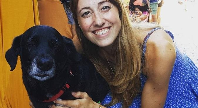 Los mejores amigos tienen 4 patas, canguro en Gijón, España