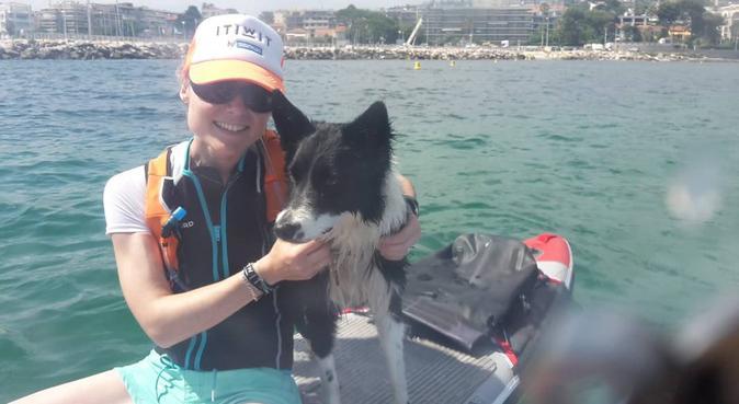 Une balade ne ressemble jamais à une autre, dog sitter à Nice