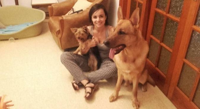 Dog lover, canguro en Vecindario