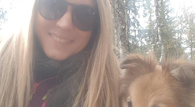 Turvenn i skogen!, hundepassere i Slemmestad