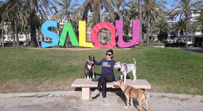 Divertidos y saludables paseos, canguro en Tarragona