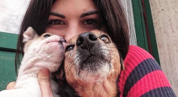 Coccole e passeggiate con Irene, dog sitter a Bari