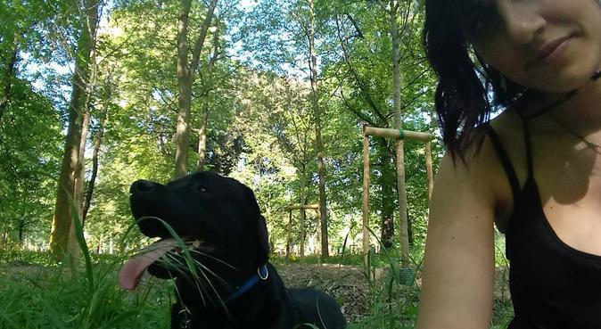 Elisabetta: dog sitter vicino alle Cascine, dog sitter a firenze