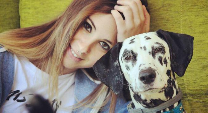 Se puede vivir sin perro, pero no merece la pena, canguro en Madrid