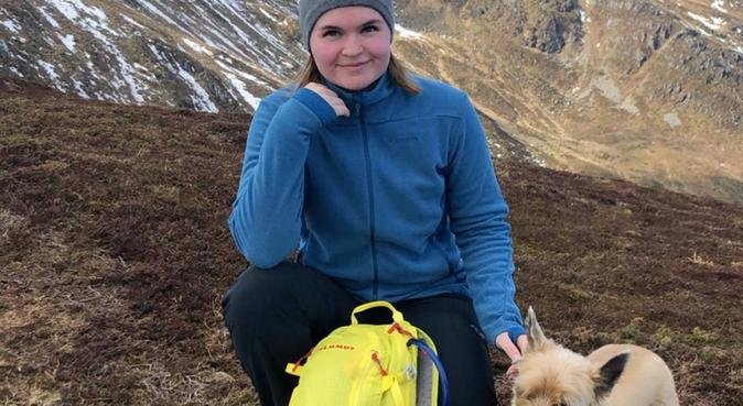 Elsker lange turer med en koselig hund, hundepassere i Frei, Norge