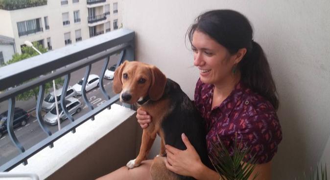 Ma chienne et moi vous accueillons, dog sitter à LYON