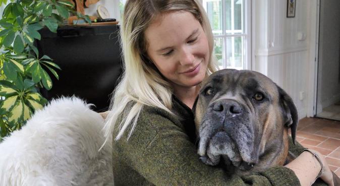 Hjälper gärna till, hundvakt nära Helsingborg