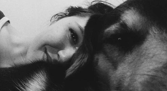 Perro cansado, ¡perro feliz!, canguro en La Garriga