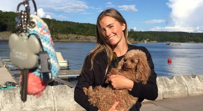 Livlig jente som søker turvenn, hundepassere i Bergen, Norge