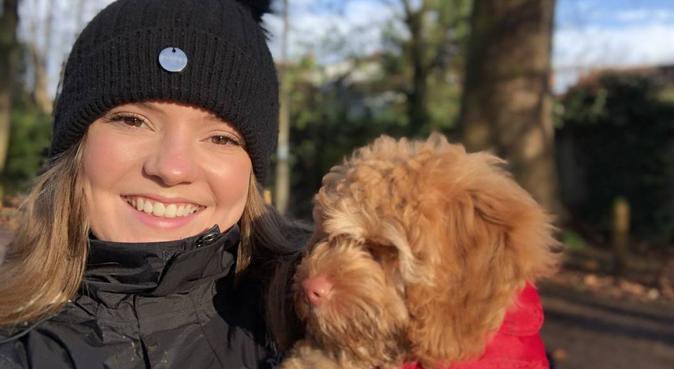 For the love of Bonner 💗, dog sitter in London