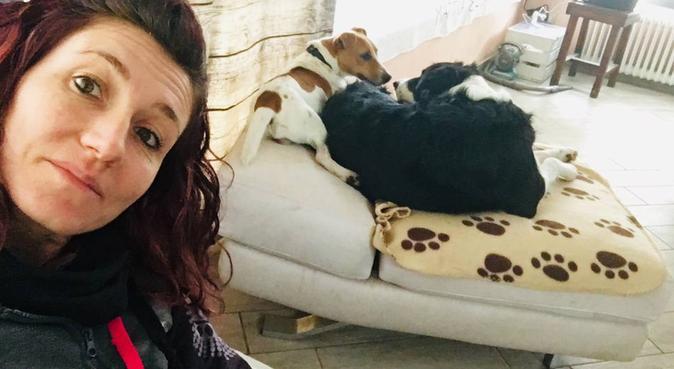 Coccole giochi passeggiate socializzazione,amore❤️, dog sitter a Pisa
