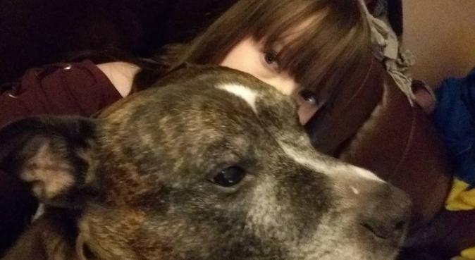 Cuddling in Aberdeen, dog sitter in Aberdeen