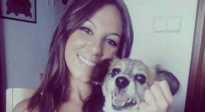 Amor perruno incondicional, hundvakt nära Alhaurín De La Torre