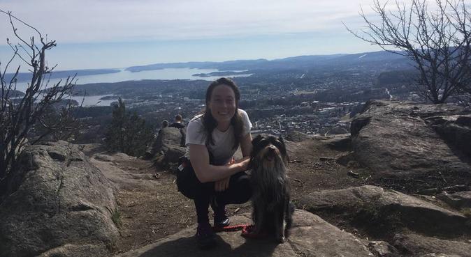 Selskap til turer i mark og fjell i Bærum, hundepassere i Oslo