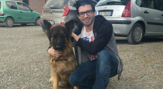 Un Americain qui aime les chiens, dog sitter à Paris
