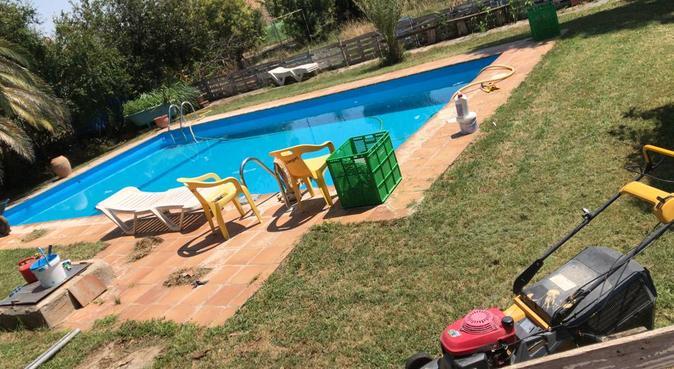 Como aquí en ningun sitio, jardín para jugar., canguro en Zaragoza