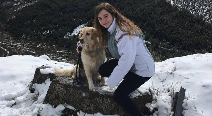 Me gustan mucho los perros y todo tipo de animales, canguro en Zaragoza