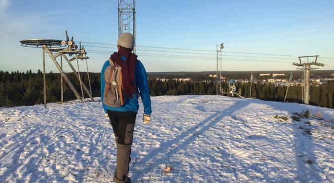 Motion & Gos, hundvakt nära Umeå