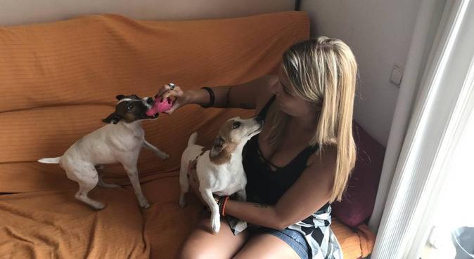 Me encantan los animales y yo a ellos 😋, canguro en Barcelona