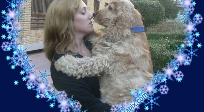 14 años con mi perra y 3 como paseadora, canguro en Móstoles