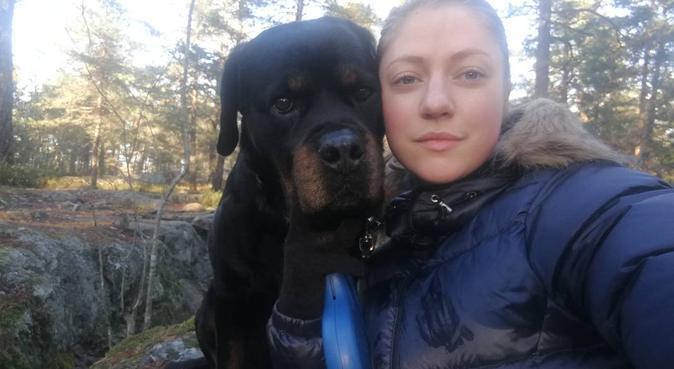 Kompismys i Skarpnäck, hundvakt nära Skarpnäck