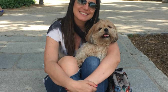 cuidado y cariño a su perro., canguro en Madrid