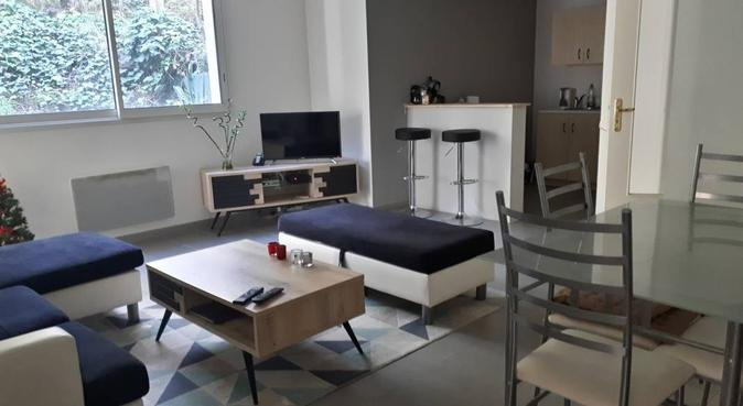 Appartement en rez-de-jardin, au calme, dog sitter à Montpellier, France