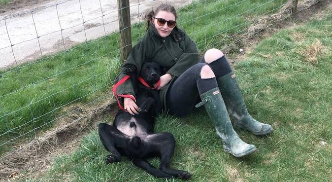 Puppy promenades in the heart of Edinburgh, dog sitter in Edinburgh