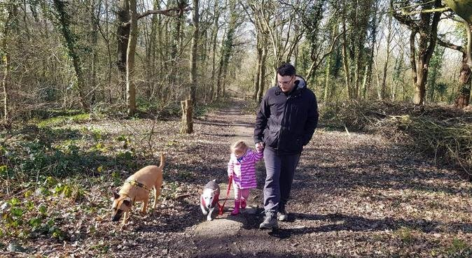 Dog paradise and nature reserve walks, dog sitter in Basildon