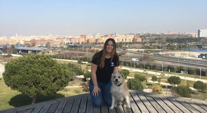 Amante de los animales, paseadora de perros, canguro en Madrid